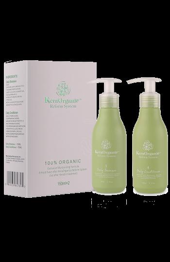 KeraOrganic Sets(Daily shampoo+Daily conditioner) 150ml*2